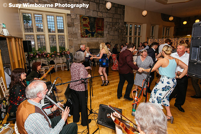 White Horse Ceilidh Band - Kings Manor York